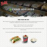 Free Rice Paper Soldiers Lunch or Pho with Crab Crackers Dinner, Oct 13 @ Rolld: Marion SA