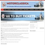 Motorclassica - Adult Ticket - $25 (Usually $35)