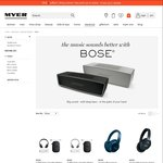 20% off Bose Range (Excluding QC and Lifestyle Products) @ Myer