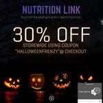 30% off Store Wide @ Nutrition Link 1/2 Price Shipping orders over $75, Free Shipping orders over $150!