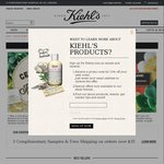 Kiehl's - 15% off Sitewide, Free Delivery with Purchase over $35