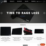 [PC Gaming Race-Global] 50% off ENTIRE Store (Keyboards, Mouse Mats, Wrist Rests)