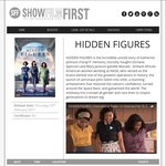"""Free Movie Tickets for Advance Screenings of """"HIDDEN FIGURES"""" - All States"""