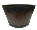 Eden 52cm Half Barrel Planter $19 @ Bunnings Warehouse