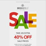 Brooksfield Business Shirts from $35.40, after Further 40% off Already Reduced Prices When You Buy 2 or More Items @ Brooksfield