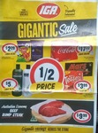 Mars Ice Cream 4pk $3.99, John West Tuna $1.00, Powerade 600mL $1.69, Coca-Cola 30x375ml $17.22 + More @ IGA