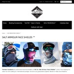 25%OFF SA&Co Salt Armour Faceshields $14.21 | 35%OFF SKILHUNT H02R Hi-Power LED Headlamp $43.10 = FREE SHIPPING @ Tomtekoutdoors