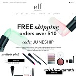 e.l.f. Cosmetics Australia Free Shipping Min Order $10 Make-up and Tools From $3