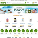 10% off Everything at iHerb