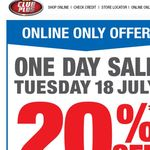 Supercheap Auto - Flash 20% Sale - 18/07/17 Online Purchases Only