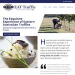 25% off Fresh Truffle + Shipping from $25 @ Eat Truffle