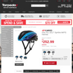 Giro AU 2017 Synthe MIPS Helmet $227.99 AUD Delivered @ Torpedo7