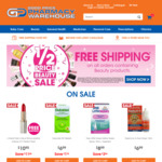 1/2 Price Beauty Sale + Free Shipping ($20 Minimum Spend) @ Good Price Pharmacy Warehouse