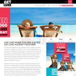 Win a $1,000 GetLuxe Holiday Voucher from Ignite Holidays