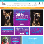 25% off Everything at Pet House Superstore *Excludes Flea, Tick and worming