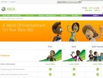 Xbox Live Gold Family Pack Introductory Offer $129 +1 month +800 points via Spotlight