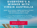 Virgin Australia Minimum 1 x Free $50 Virgin Australia Holiday Voucher with Flight Booking