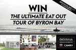 Win the Ultimate Eat-Out Tour of Byron Bay for 2 Worth $5,000 from News Life Media