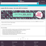 Book Depository 10% off Selected Best Sellers