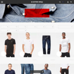 50% off Jeans. T-Shirts, Shorts + Other Menswear @ G-Star