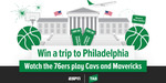 Win a Trip to The NBA in Philadelphia with TAB & ESPN