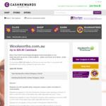 Increased Cashrewards Cashback @ Woolworths Online: Existing Customers $8 (Min Spend $50)
