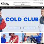 'Fashion Weekend' | 25% off Storewide* + Free Delivery for Orders > $75 @ Glue Store