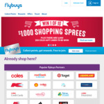 3x or 5x Flybuys Points until End of May @ eBay (Existing Users)