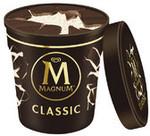 Magnum Tub Ice Cream 440ml - Classic | Almond | White $4.25 Each (Was $9.35) @ Coles