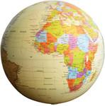 Motion Globe Antique Design 20cm $14.98 at Australian Geographic Shop