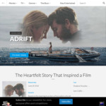 Win 1 of 20 Adrift Prize Packs (Novel & DP) Worth $63.99 from Roadshow