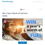 Win a $3,500 Caltex StarCash Gift Card from iimage Technical Services Pty Ltd