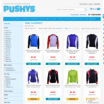 Pushy's Cycling Clearance Sale (Jerseys from $10, Rain Jackets from $5, Helmets from $5)