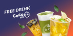 [SYD] Free Large Drink @ CoCo Fresh Tea via Liven