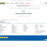 IKEA Parcel Delivery Service from $9 (Flat Rate, up to 14kg) - Excludes QLD, NT, TAS