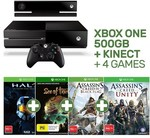 Xbox One 500GB + Kinect + 2 or 4 Games for $249 @ EB Games + $10 ~ $15 Delivery