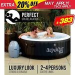 Bestway Lay-Z-Spa Inflatable Spa/Hot Tub $383.20 + Postage @ outbaxcamping eBay