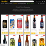 Free 6 Pack of Exit Pale Ale with $100 Spend on 4+ Craft Beers @ BoozeBud