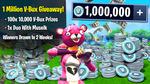 Win 1 of 100 Prizes of 10,000 V-Bucks from Muselk