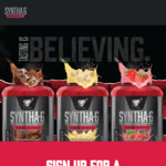 Free Sample of Syntha-6 Edge Protein Powder