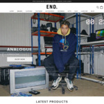 20% off Storewide @ END Clothing
