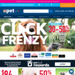 30-50% off Selected Premium Dog Food/ Flea, Tick, Worm Treatments. Nexgard Spectra XL 6 Pack $72.50 @ PETstock