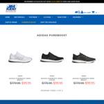 Men's adidas PureBoost $99.95 + Free Shipping @ Jim Kidd Sports