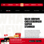 Hash Brown Cheeseburger Super Stunner for $5.95 @ Hungry Jack's