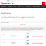 Qantas Sale - One Way Fares from $99 Eg Sydney to Gold Coast from $99, Townsville to Rockhampton from $99