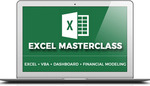 Excel Masterclass Bundle (Advanced Excel + Excel VBA + Dashboard + Financial Modeling Course) $99 (Value $199) @ Yoda Learning