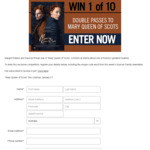 Win 1 of 10 Double Passes to Mary Queen of Scots Worth $40 from Seven Network