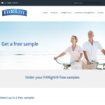2x Free Sample of FitRight Continence Management Underwear @ FitRight Australia