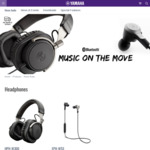 Valentines Day Special: Yamaha Wireless Headphones EPH-W53 $99, HPH-W300 $149 Delivered @ Yamaha