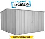 Garden Shed 3m X 3m in Zinc $379 Delivered @ Simply Sheds
